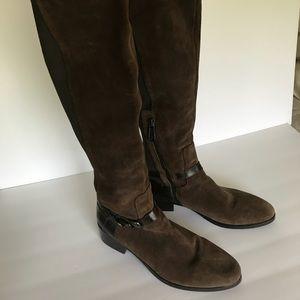 Donald J Pliner suede boots